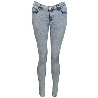 View Item Light Blue Acid Wash Skinny Jeans